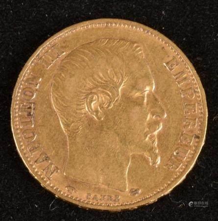 20 Francs Or Napoleon III