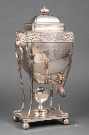 Daniel Holy, Parker & Co. Plate Hot Water Urn