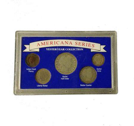 Americana Series Coin Collection, Barber. NO RESERVE!