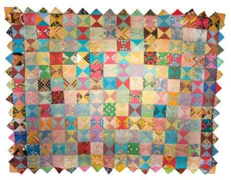 American Vintage patchwork Quilt, NO RESERVE!