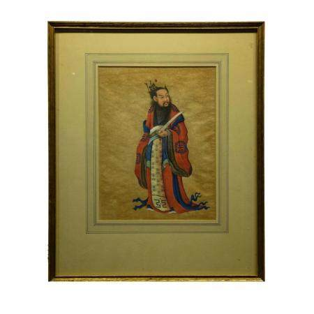Chinese Painting on Paper, Framed