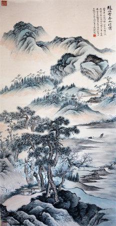 近现代 吴湖帆 山水