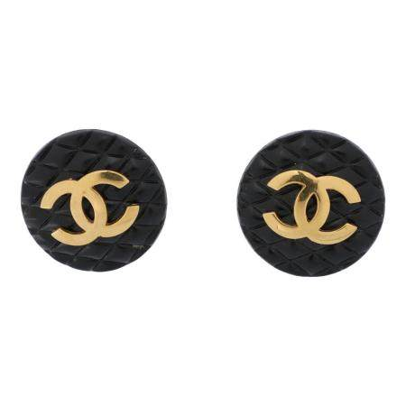 CHANEL VINTAGE Ohrclips.