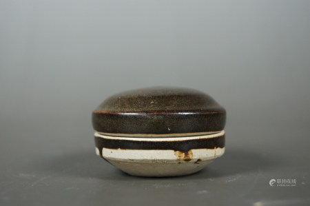 Chinese Early Ding Kiln Porcelain Cover Box