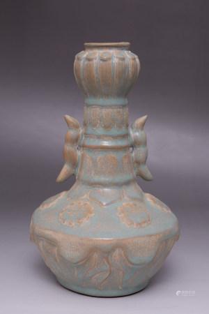 Chinese Ru Kiln Porcelain Bottle