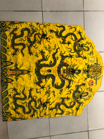 Chinese Qing Dynasty Qianlong Period Emperor'S Dragon Robes