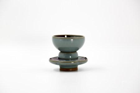 Chinese Jun Kiln Porcelain Lamp Holder