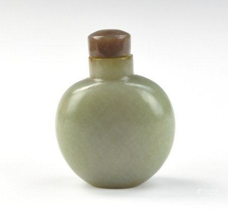 Chinese Jade Snuff Bottle,Qing Dynasty