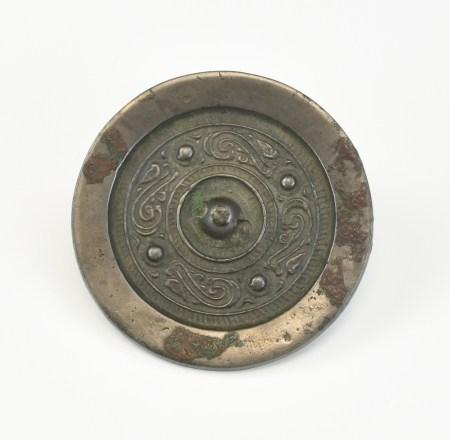 Chinese Bronze Circular Mirror,Han Dynasty