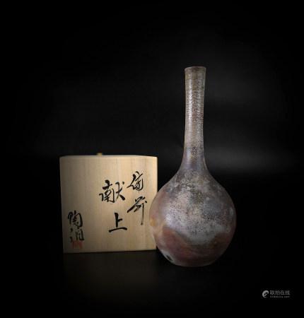 俻前 长颈花瓶