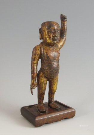 Buddha als Kind.