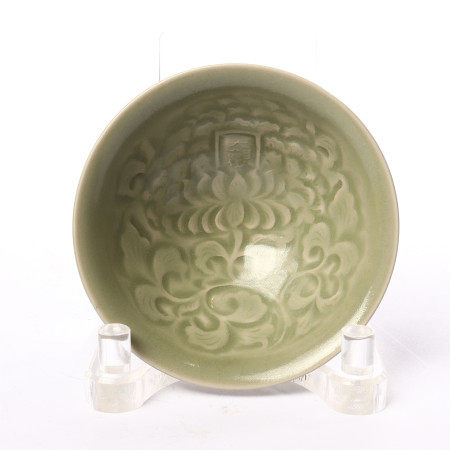 SONG Dynasty Yaozhou Kiln carved bowl