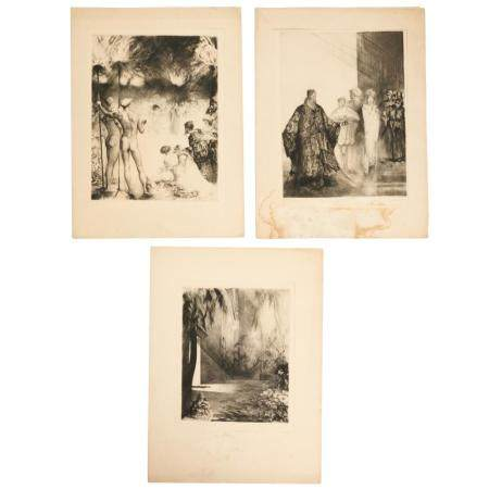 Paul Herrmann, Salome, (3) etchings