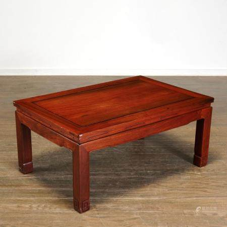 Nice Chinese carved hardwood low table