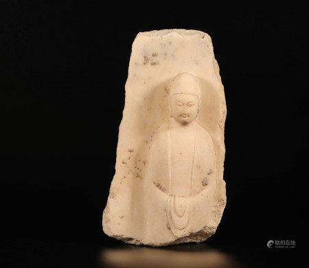 Stone Buddha Statue from Northern Qi 北齐时期石頭佛造像