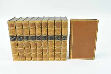 HUME, David, History of England, 6 vols 1848. With Smollett's continuation, 4 vols. Contemporary