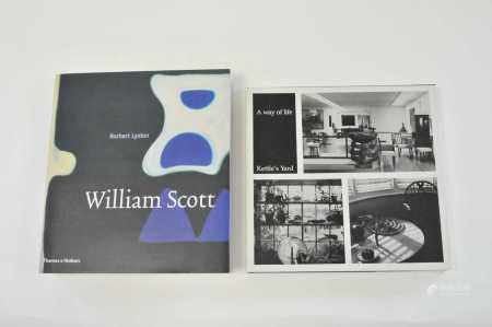 LYNTON, Norbert, William Scott. Thick 4to 2004. With A Way of Life: Kettle's Yard, 4to reprint 1984.