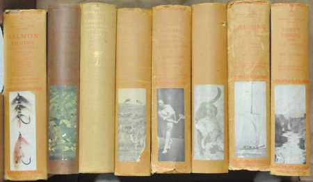 LONSDALE LIBRARY. Tavener, Eric, Salmon Fishing. With 7 other titles from the same series, all but