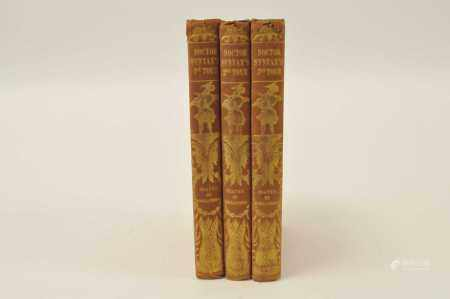 COMBE, William, The Tours of Dr Syntax, 3 vols. stated 3rd edition on title page. With 78 hand