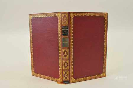 MITFORD, John, Johnny Newcombe in the Navy, 1823. With 20 hand-coloured plates. Fine binding by