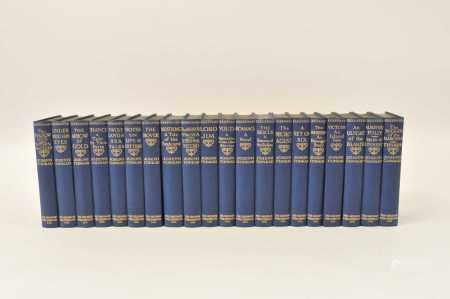 CONRAD, Joseph, Works in 20 vols. Gresham Publishing Company 1925. Blue cloth gilt (20) (box)