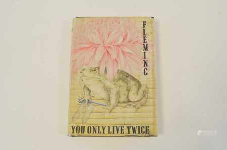 FLEMING, Ian, You Only Live Twice. 1st edition, 1964. In dust wrapper