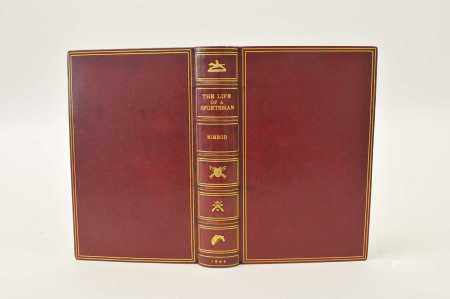 NIMROD, Life of a Sportman, 1842, 1st edition, 1st issue with all points. 36 hand-coloured plates by