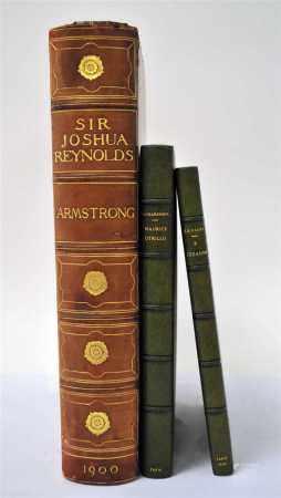 ARMSTRONG, Sir Walter, Sir Joshua Reynolds, First President of the Royal Academy. Folio, 1900.
