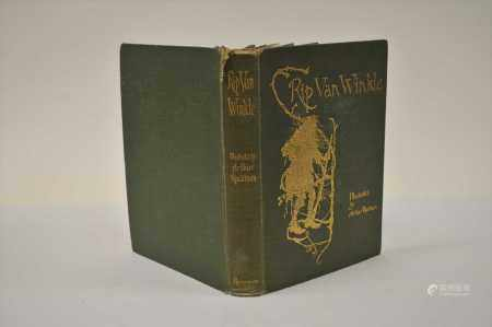 IRVING, Washington, Rip Van Winkle, 4to 1905. Illustrated by Arthur Rackham. With a frontis and 50