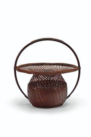 A BAMBOO BASKET