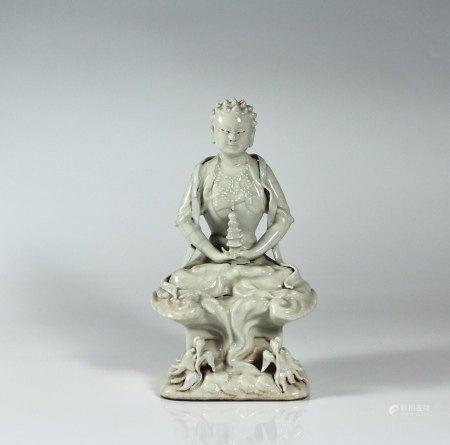 A Porcelain Figure, Qing Dynasty