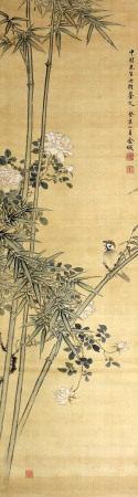 金城 竹子小鸟