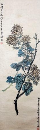 吴昌硕、叶鸿业 花卉