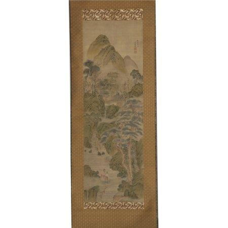 瀋駒岳 山水高仕圖