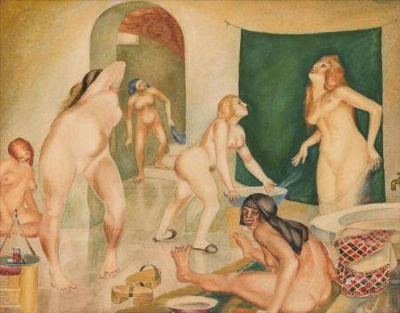 Boleslaw Cybis Polish/American, 1895-1957 Women Bathing, 192