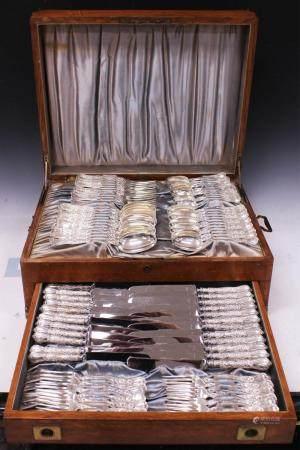 GORHAM STERLING SILVER FLATWARE, 84 PCS. W/ BOX