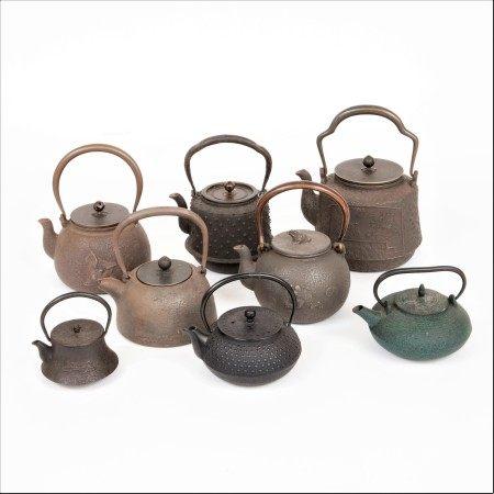 鐵壺一組八個