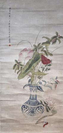 繆嘉惠 花卉