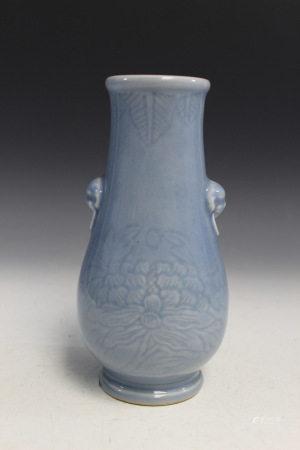 Chinese Clair de Lune Porcelain Vase