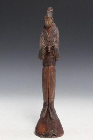 Japanese Pottery Figure