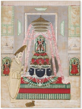 EKLINGJI AT THE ROYAL TEMPLE OF MEWAR