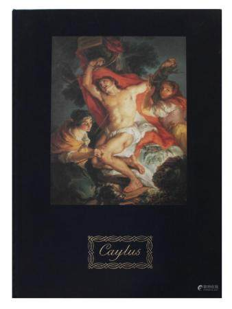 """CAYLUS. TRES SIGLOS DE PINTURA"" CATALOGUE OF ART"