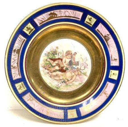 Plate Royal Vienna Porcelain ManufactoryCa 1901