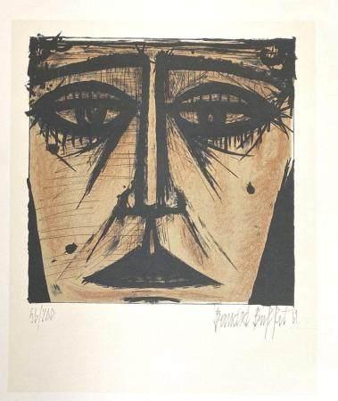 """Bernard Buffet 1967 Color Lithograph """" Signed """""""