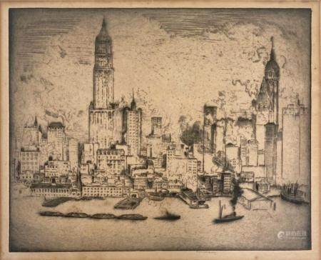 William C. McNulty (1889-1963) View NEW YORK