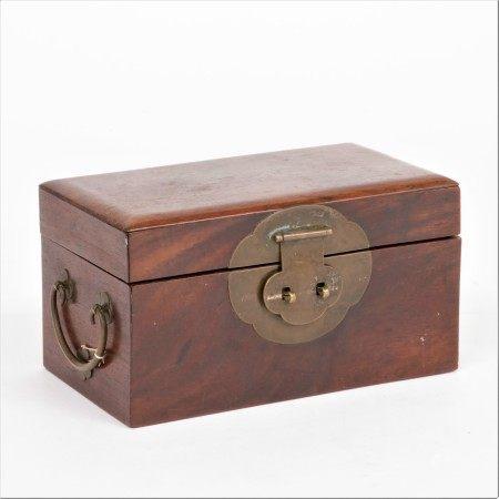 清 黃花梨印章盒