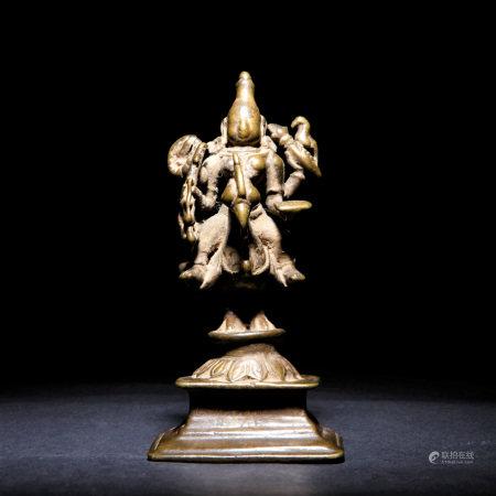 十二世紀 古銅帕拉佛像