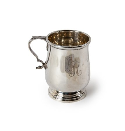 LUNT STERLING SILVER CHILD/ BABY CUP 1724 REPLICA
