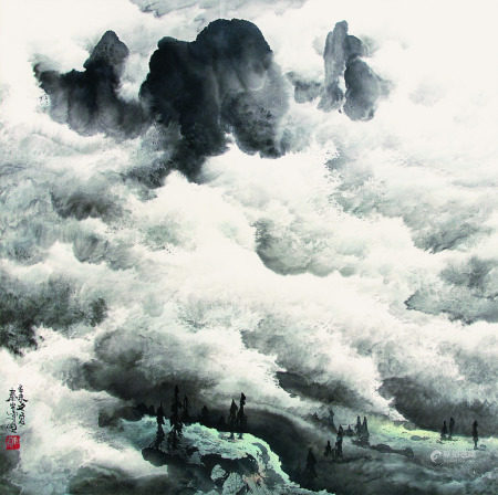 龐泰嵩   雲湧青山