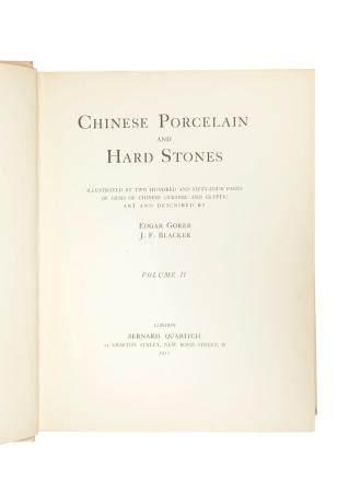 Chinese Porcelain and Hardstones, version bilingue français anglais par Edgar Go